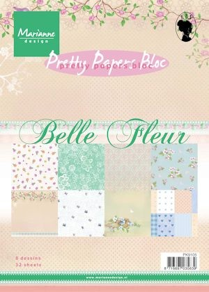 Pretty Papers bloc Belle Fleur
