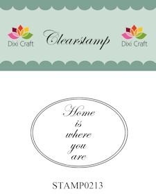 Clearstamp Home is where you are