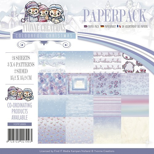 Colourful Christmas Paperpack