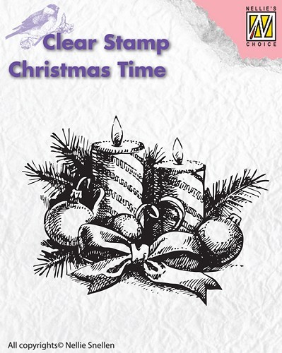 Clear stamp Christmas Time Candles
