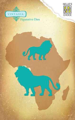 Die Vintasia Die Big-Five serie African lion