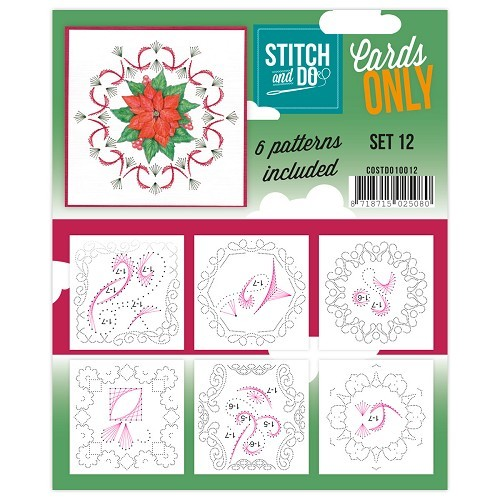 Stitch & Do Cards Only 12