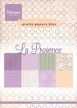 Pretty papers bloc La Provence
