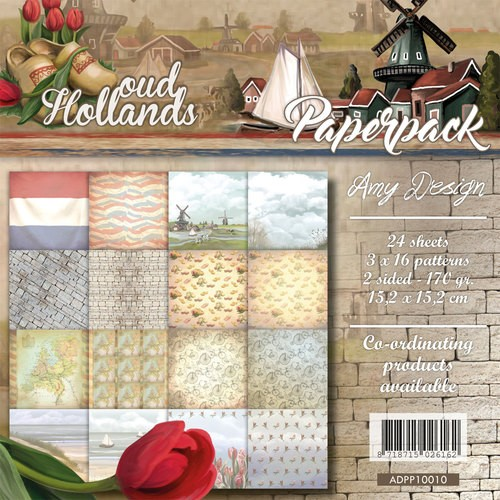 Amy Design Oud Hollands paperpack