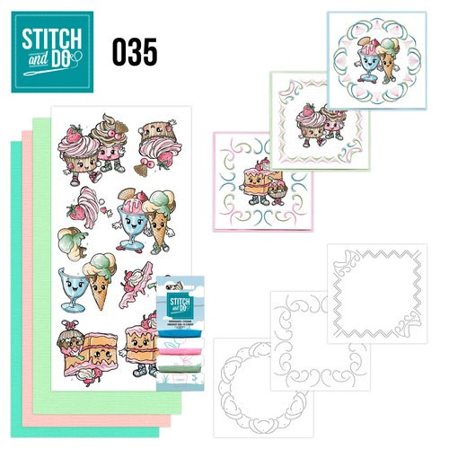 Stitch and Do 35 Cupcakes