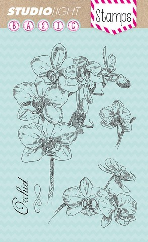 Clearstamp A-6 orchidee