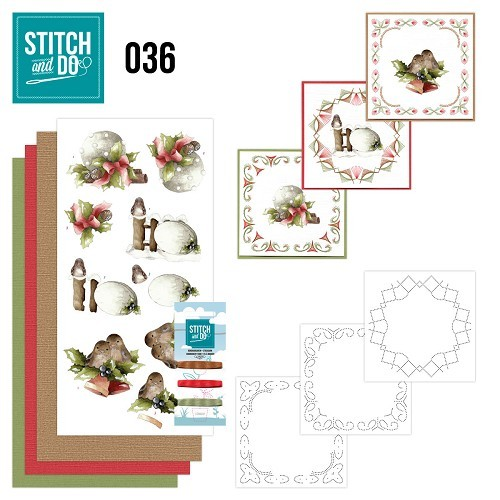 Stitch & Do 36 kerstversieringen