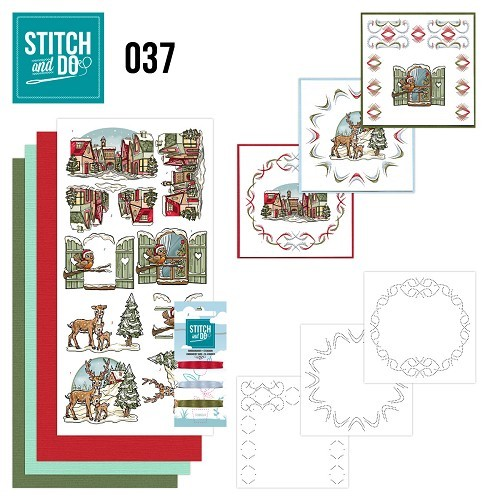 Stitch & Do 37 kerstversieringen