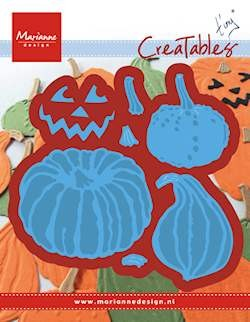 Creatable stencil Tiny`s pumpkins