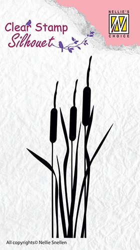 Clear stamp Silhouet Bulrushes