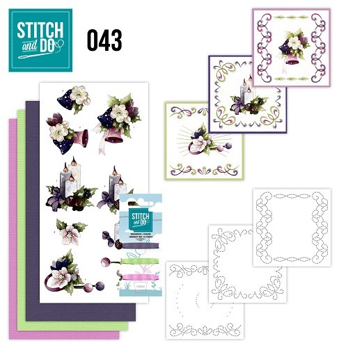 Stitch and Do 43: Purple colored Christmas