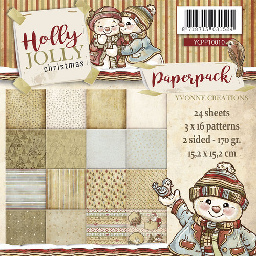 Paperpack Holly Jolly