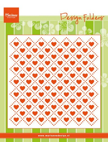 Design folder sweet hearts
