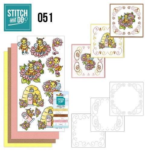 Stitch and Do 51: Bijtjes