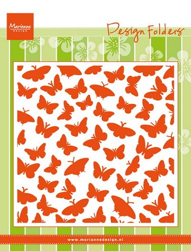 Marianne design folder butterflies