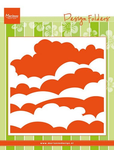 Marianne design folder clouds