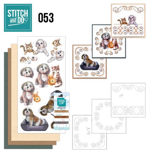 Stitch and Do 53 : Huisdieren