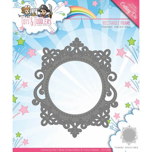 Tots and toddlers: Rectangle Frame