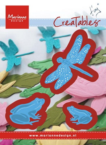 Creatables Tiny`s frogs and dragonfly