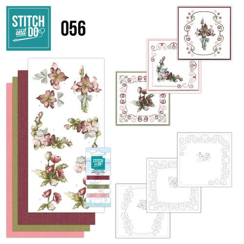 Stitch and Do 56: Fantastich flowers