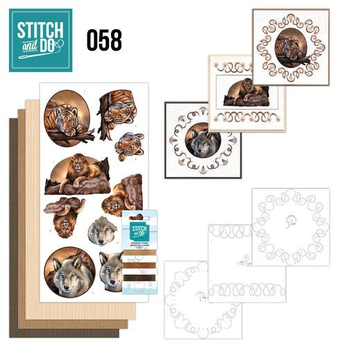 Stitch and do 58: Wild animals