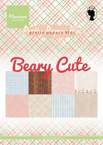 Pretty papers bloc Beary cute