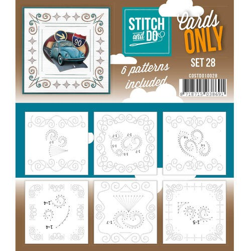 Stitch and do CARDS ONLY set 28