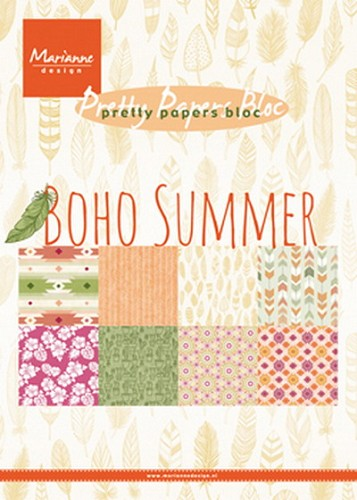 Pretty Paper bloc boho summer