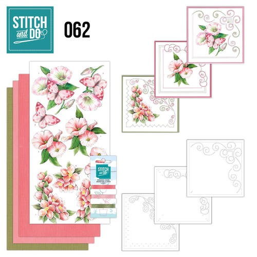 Stitch and do 62: Bloemen