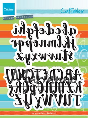 Craftables brush alphabet