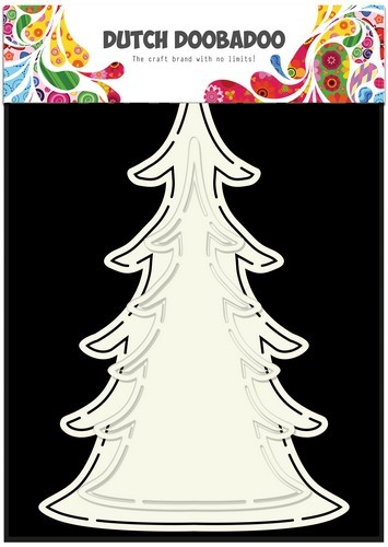 Dutch Doobadoo Dutch Shape art Xmas tree (2x)