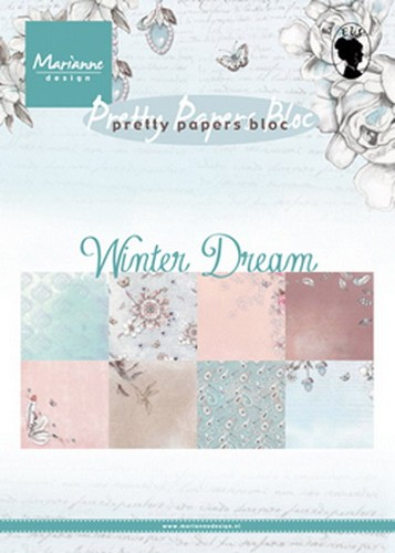 Pretty papers bloc Winter Dream