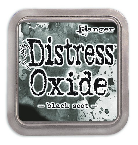 Distress Oxide ( groot) Black Soot