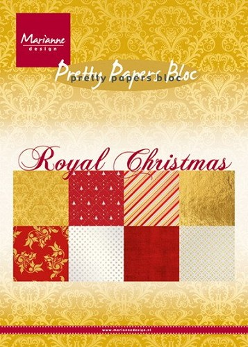 Pretty papers bloc Royal Christmas