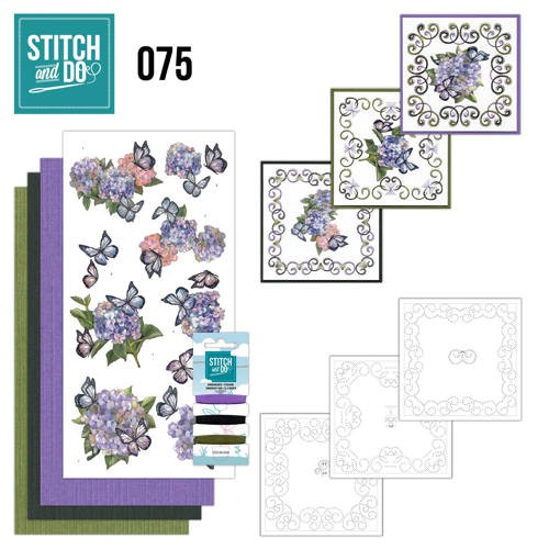 Stitch and do 075: Hortensia
