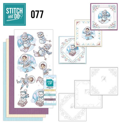 Stitch and Do 77: Winterpret