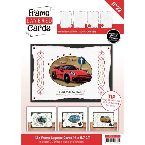 Frame Layererd cards 22 A6
