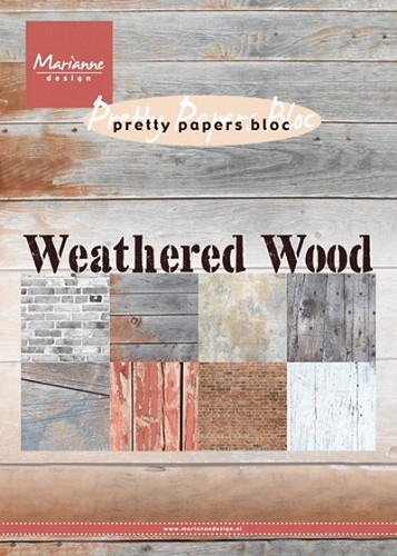 Pretty`s papers bloc Weathered wood