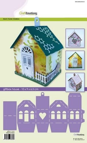 Craft Emotions Giftbox-House