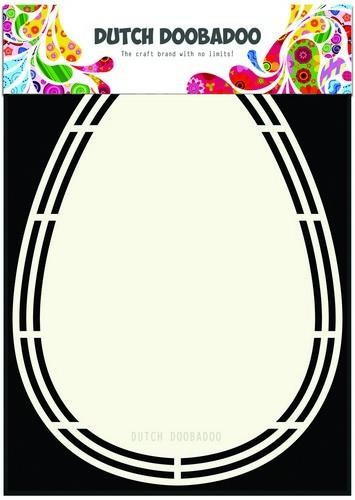 Dutch Shape Art Easter Egg A5