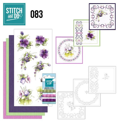 Stitch and DO 83: Purple Flowers