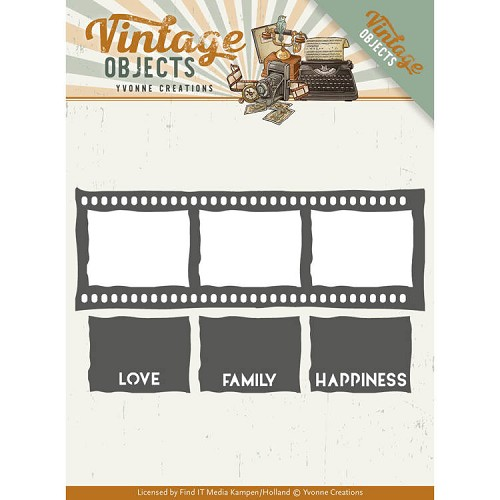 vintage objects: Film strip