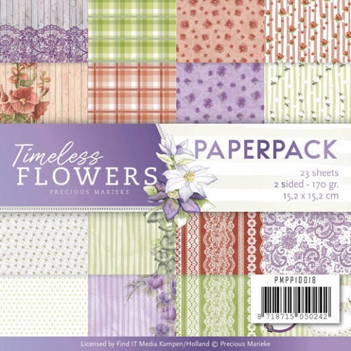 Timeless Flowers: Paperpack