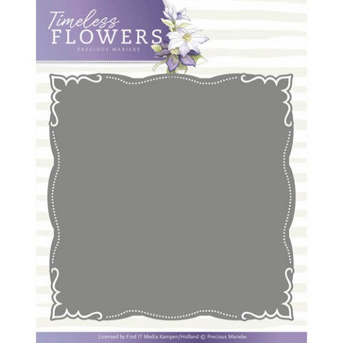 Timeless Flowers: Frame Layered dies