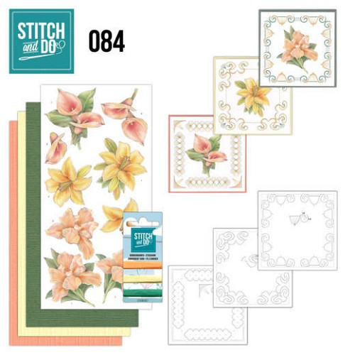Stitch and Do 84: Yellow Flowers
