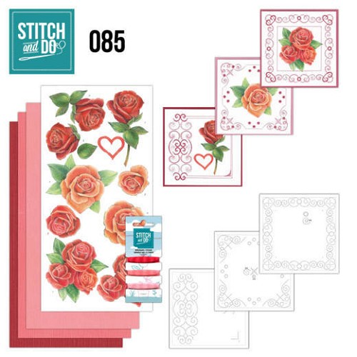 Stitch and Do 85: Roses