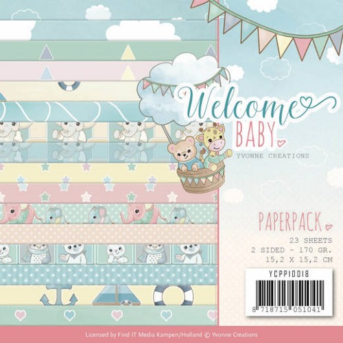 Welcome baby: paperpack
