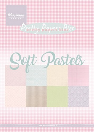 Pretty papers bloc soft pastels