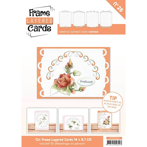 Frame Layered Cards 26 A6