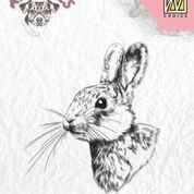 Clearstamp animals: Rabbit-2